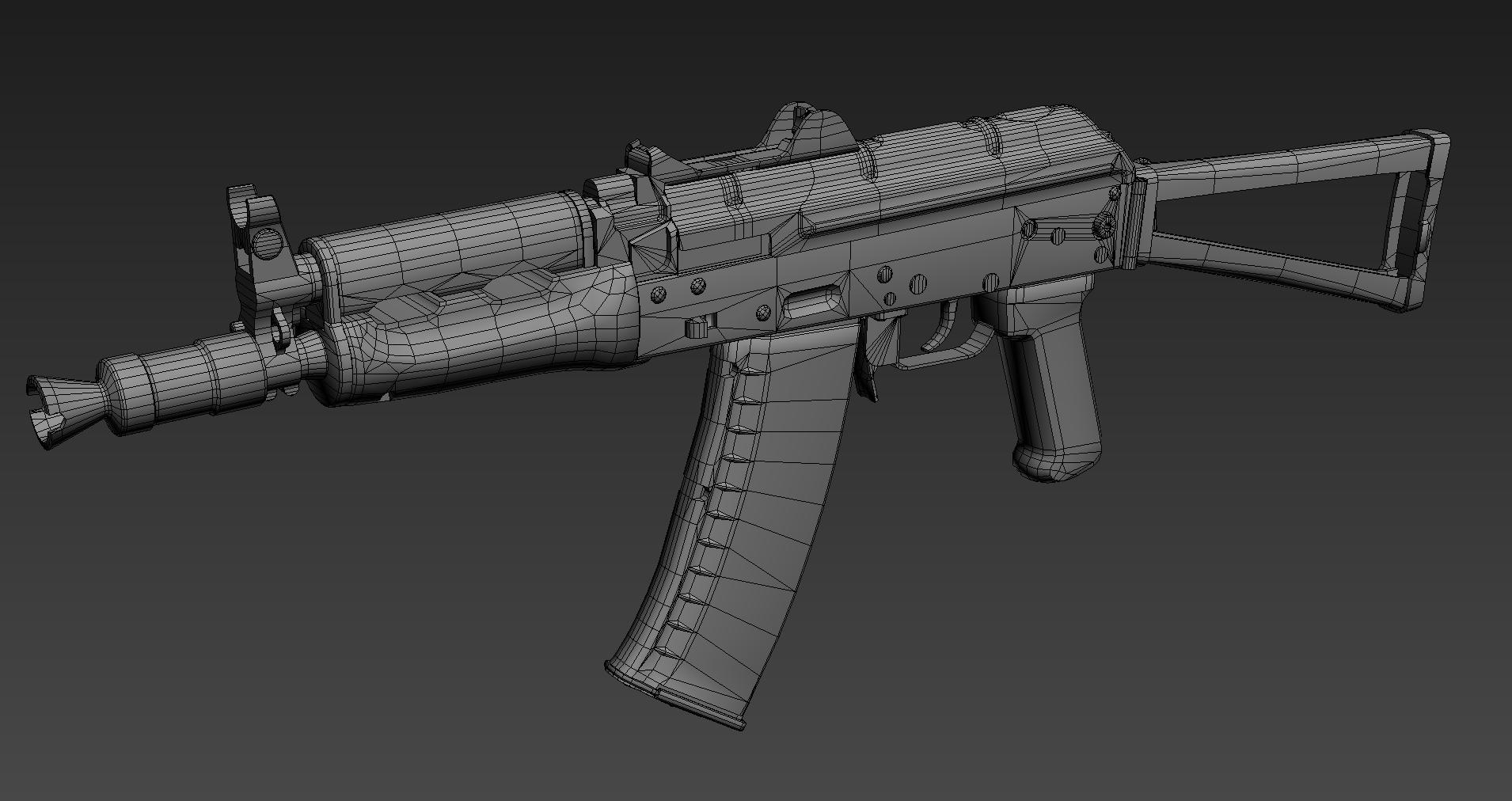 AAA Quality Assault Rifle Asset Packs from Ironbelly Studios