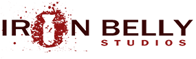 Ironbelly Studios Sticky Logo