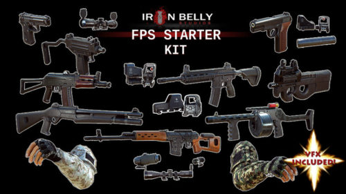3D Weapons - FPS kit
