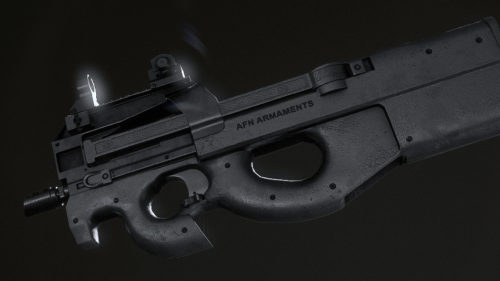 3D Weapon - Pistol