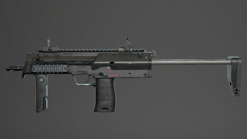3D Weapon - Rifle