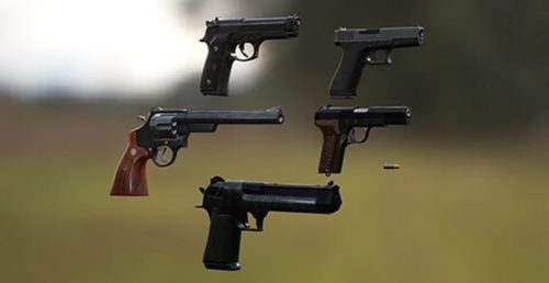 3D Weapon - Pistol collection
