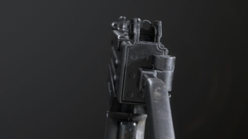 3D weapons - submachine gun