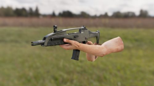 3D Weapon - Submachine gun