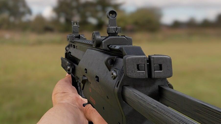 3D Weapon - Submachine