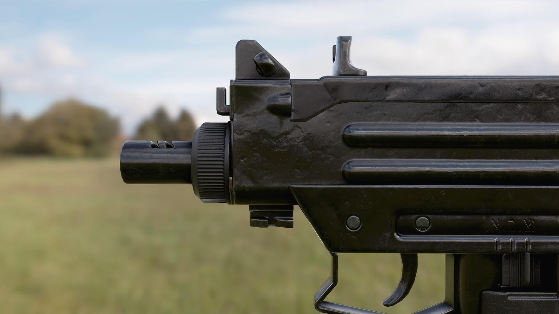 Animated FPS Black Market Guns Pack